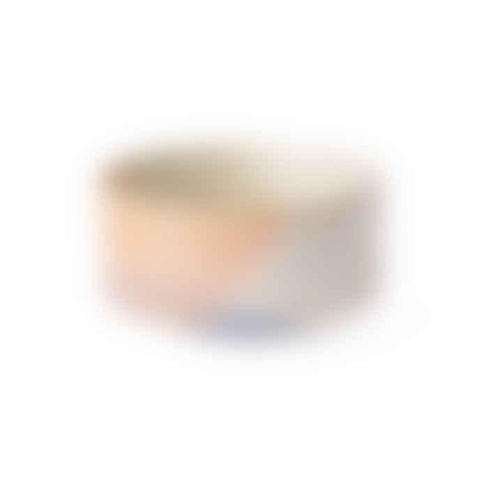 HK Living Blue And Peach Gallery Ceramics Bowl