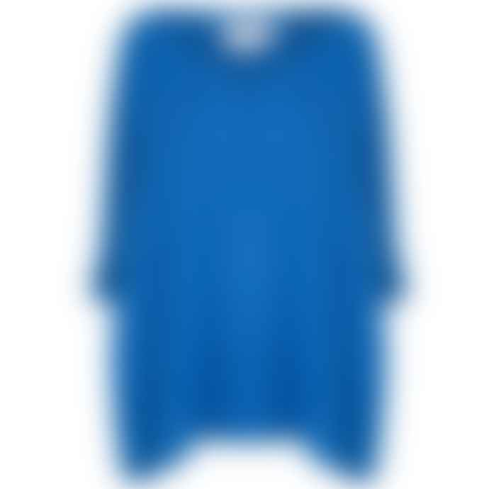 Absolut Cashmere Poncho Blue