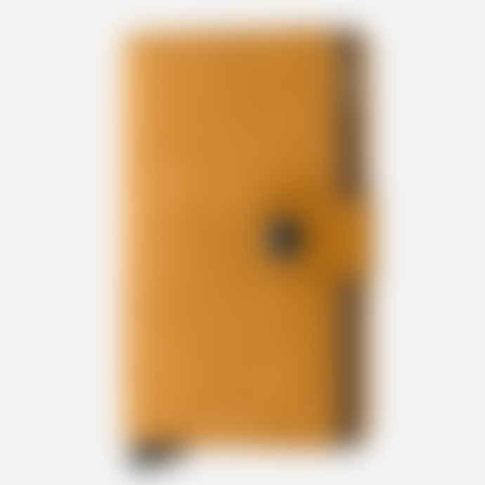 Secrid Mini Wallet with Card Protector RFID - Vintage Ochre