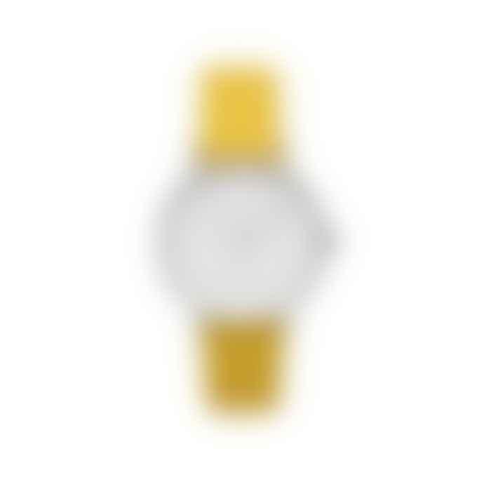 Estella Bartlett  Yellow Vegan Friendly Leather Watch