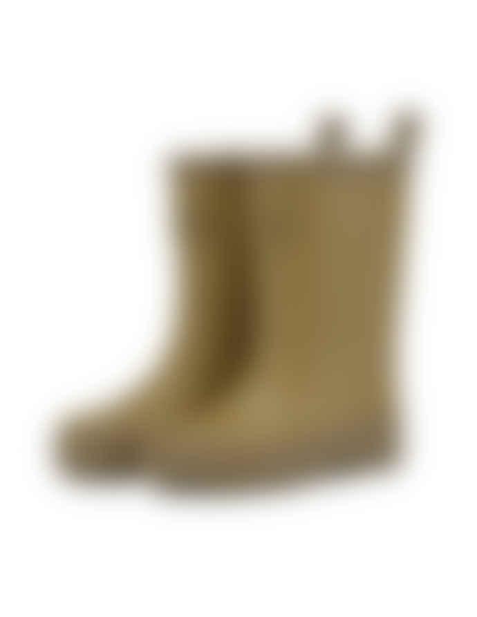 Konges Slojd Cognac Rubber Valken Boots