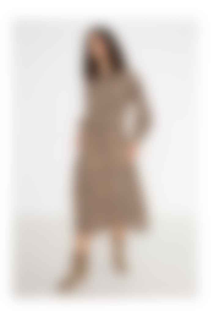 Swildens Alizee Leopard Print Dress
