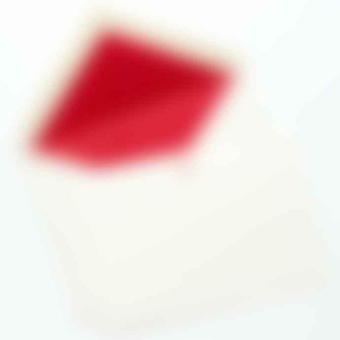Meticulous Ink Heart Letterpress Correspondence Cards