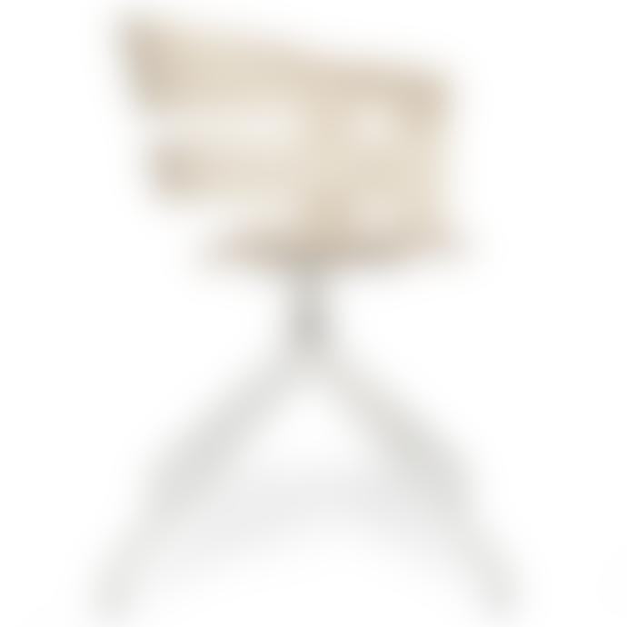 Design House Stockholm  Ash Seat White Swivel Base Wick Chair (2 colours)