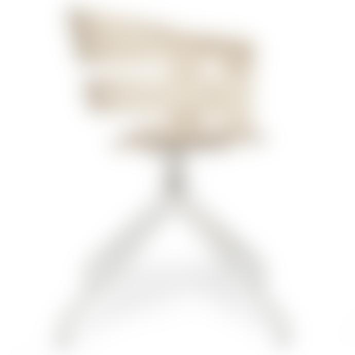 Design House Stockholm  Oak Seat Grey Swivel Base Wick Chair (2 colours)