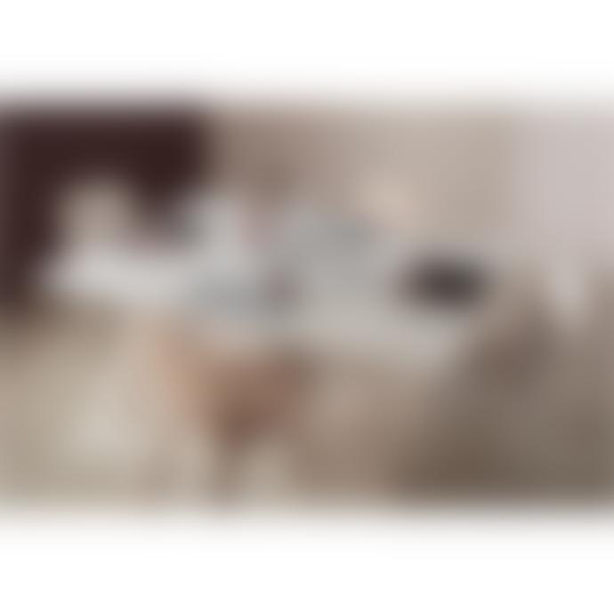 Freeform Faux Leather & Cork Diamond Connect Mats (set of 2)