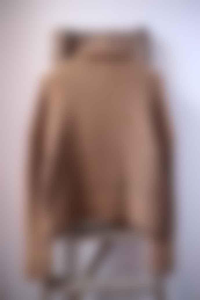 Leon & Harper Miaou Camel Chunky Knit Cardigan