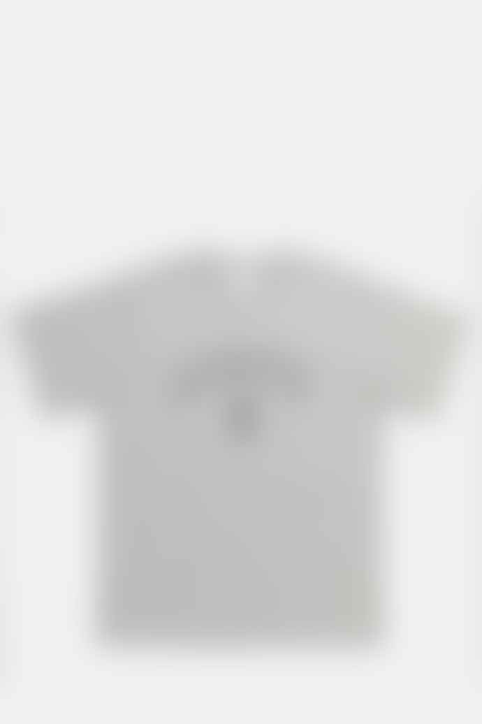 Square Park T Shirt In Heather Grey