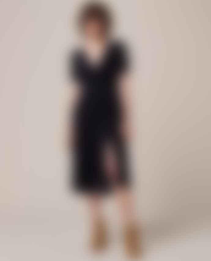 Sessun Longdance Velvet Dress
