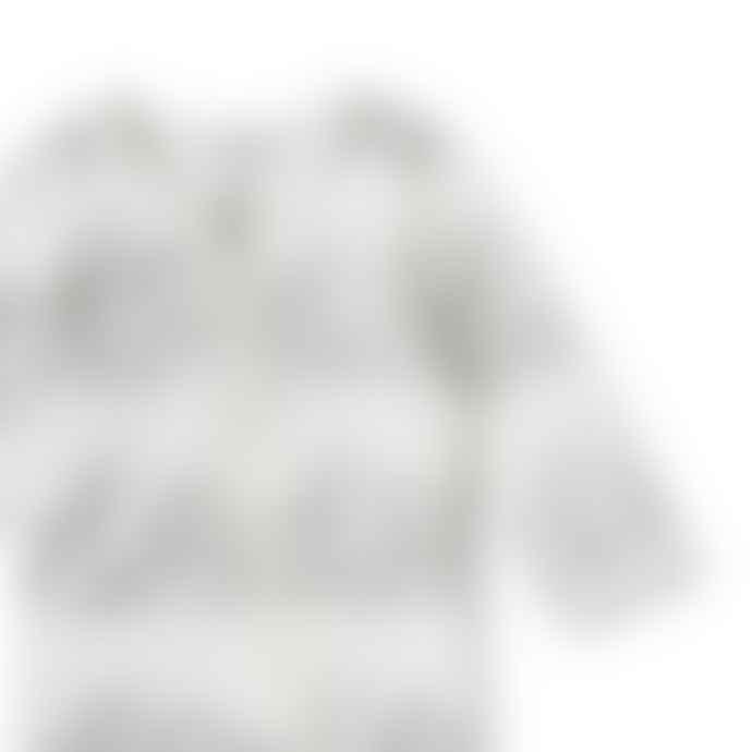 Wilson and Frenchy Grey And White Wonderful World Zip Sleepsuit