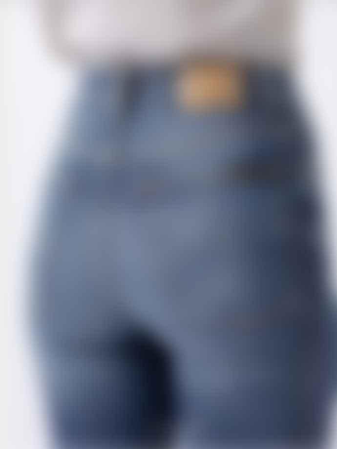 Nudie Jeans Mid Indigo Hightop Tilde Jeans