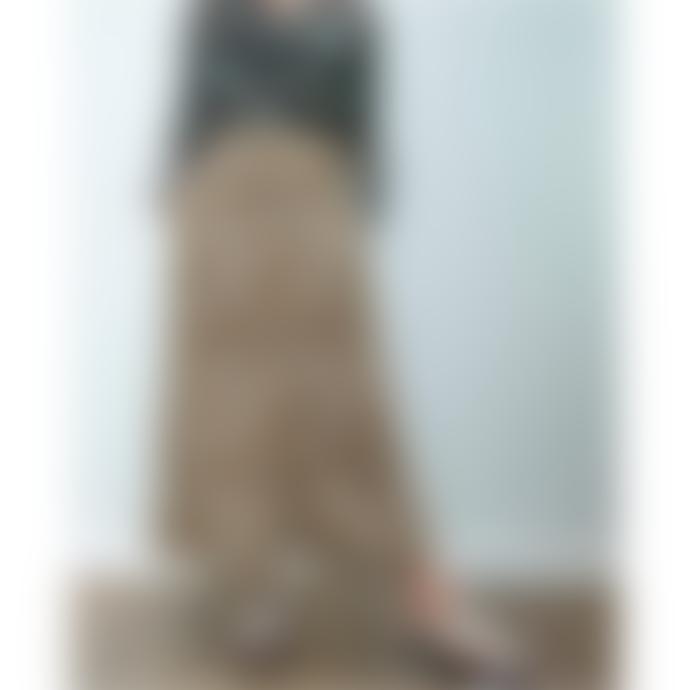 Primrose Park Leopard Print Maxi Angie Skirt