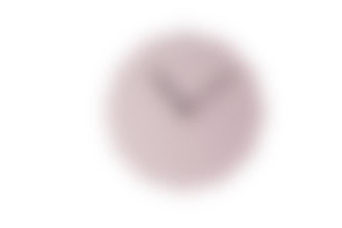 NEO/CRAFT Pink Twelve Sided Wall Clock