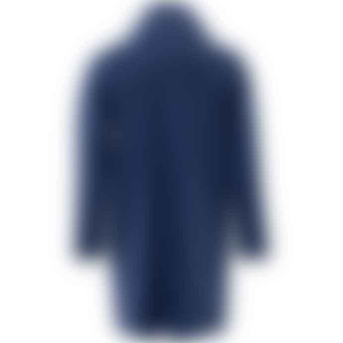 Rains Long Jacket 1202 Blue klein/True Blue
