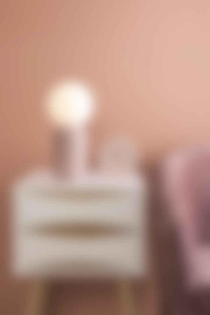 Leitmotiv Pink Globe Table Lamp