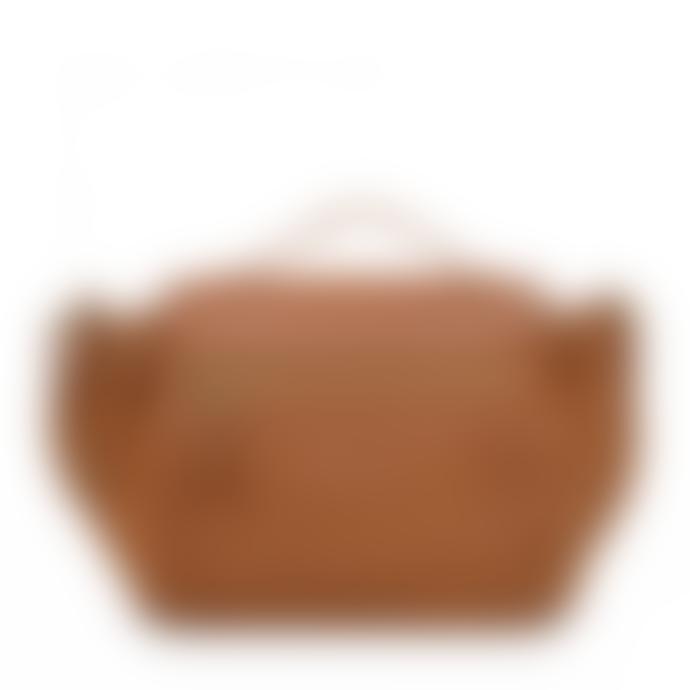 Nat & Nin Spice Leather Iris Handbag