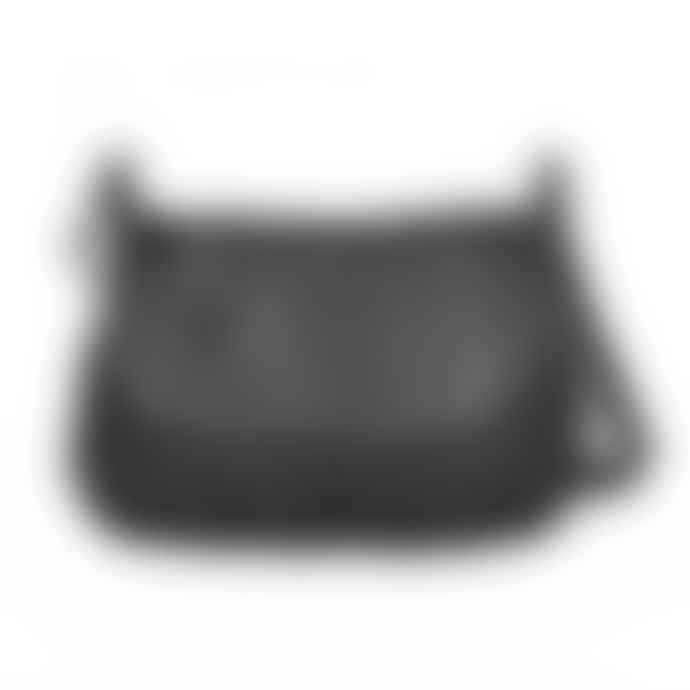Nat & Nin Black Leather Jen Sling Bag