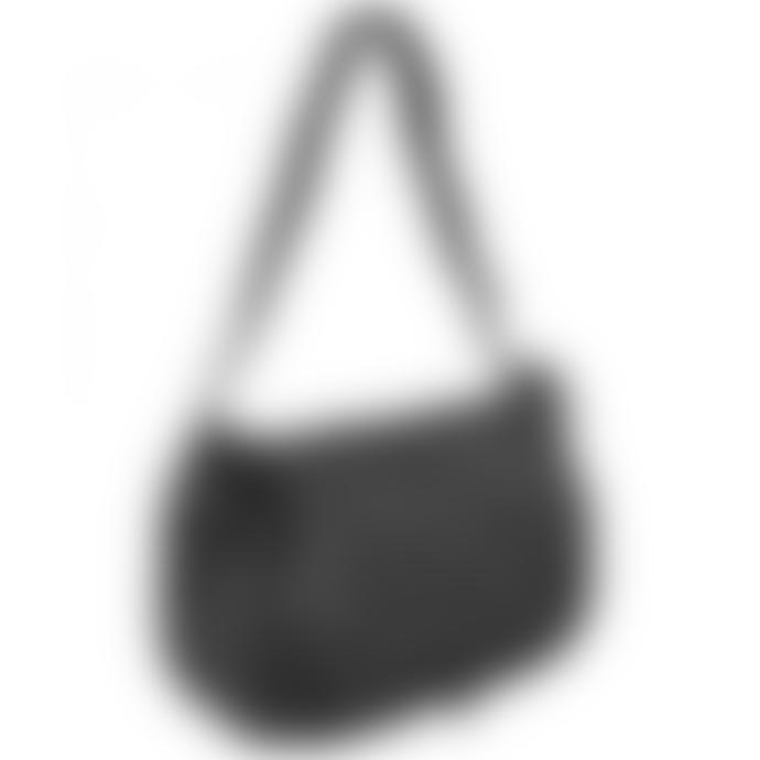 Nat & Nin Black Leather Lola Bag