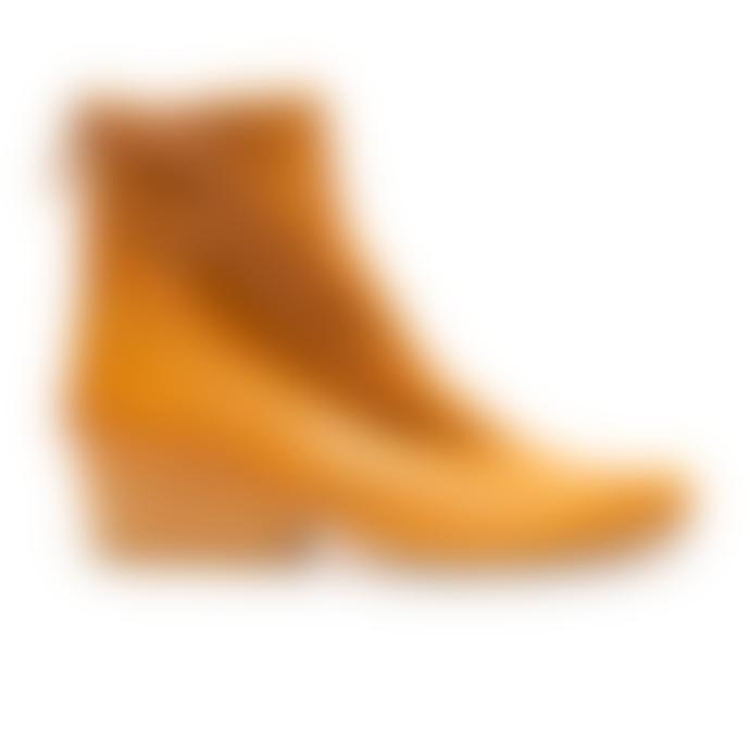 Tracey Neuls ARLINDA Cumin | Ochre Leather Zip Boots