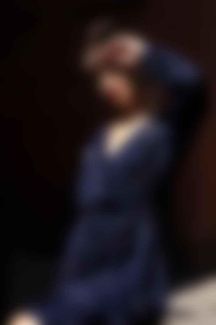 Leon & Harper Rimbaud Jacquard Black Iris Dress