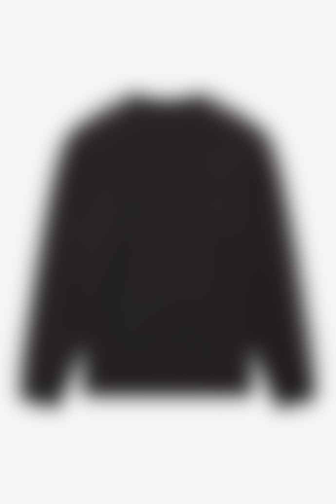 Fred Perry Fred Perry Taped Shoulder Sweatshirt Black