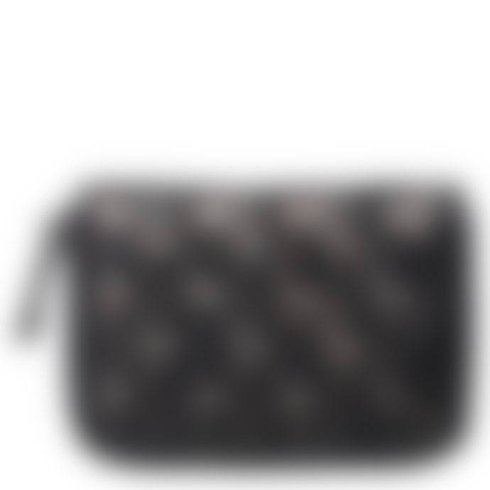 Becksondergaard Black Braidy Eel Skin Purse