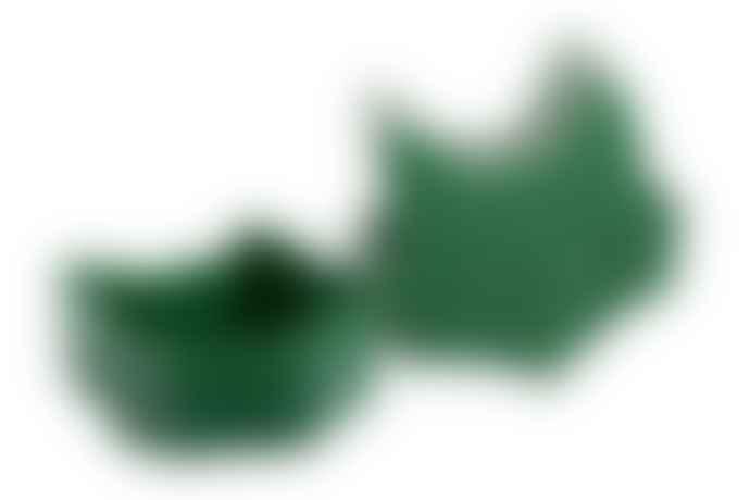 BLAFRE Dark Green Plastic Fox Snack Box