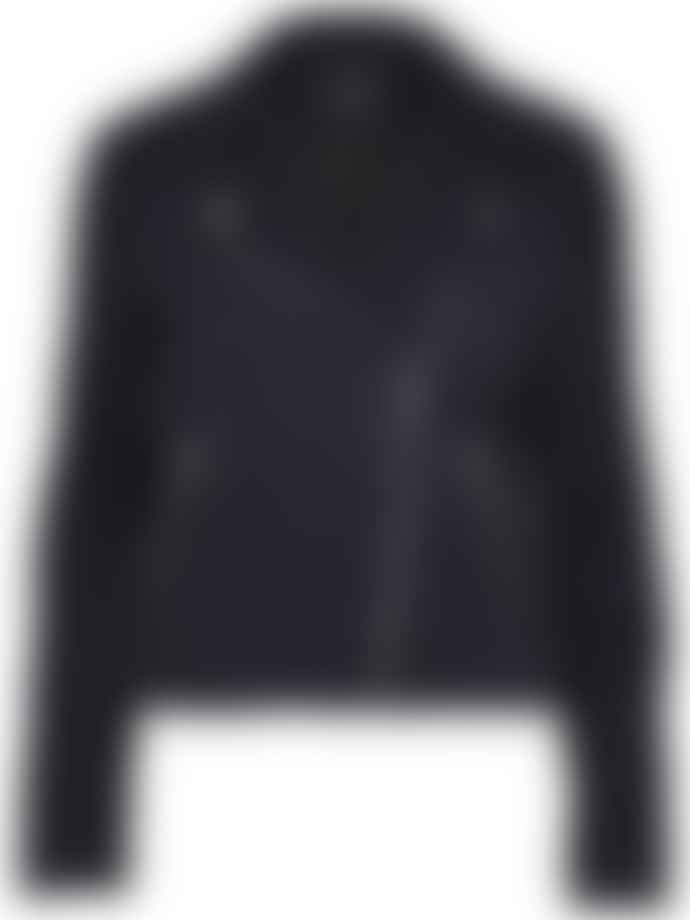 Selected Femme Night Sky Suede Marlen Jacket