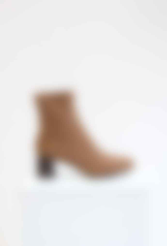 Collection & Co Kaira Chocolate Brown Sock Boots