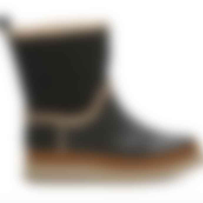 Toms Shoes Toms Womans Leather Makenna Boots Black