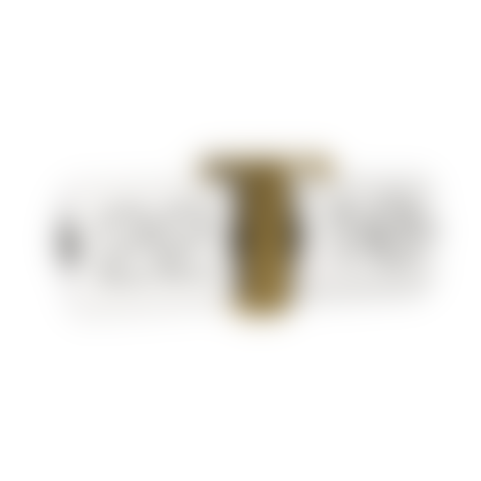 Karlsson White/Gold No Case Flip Clock (3 colours)