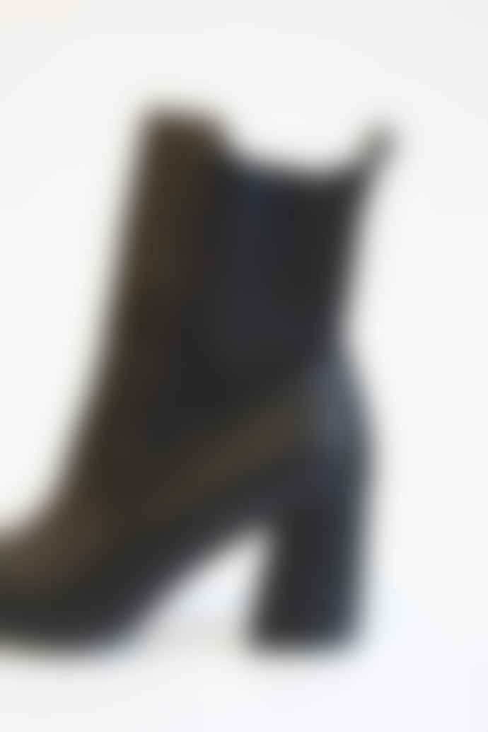 Collection & Co Black Melita Cowboy Boots