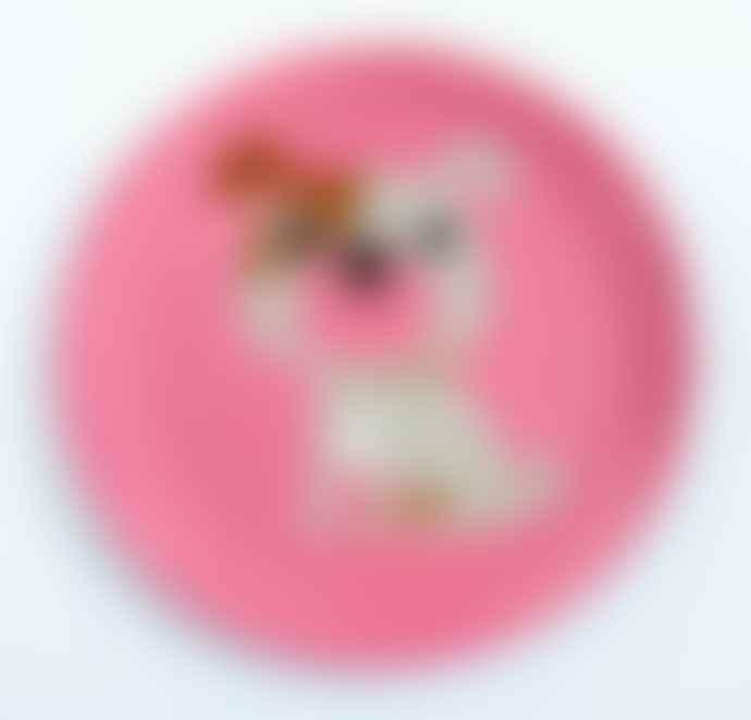 Omm Design Retro Animal Design Melamine Plates