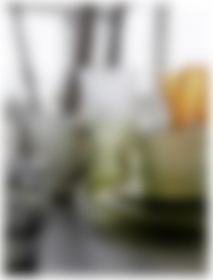 Nordal Green Glass Tea Plate