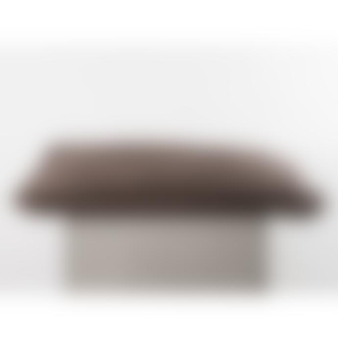 101 Copenhagen  Taupe Handknit Jersey Pillow