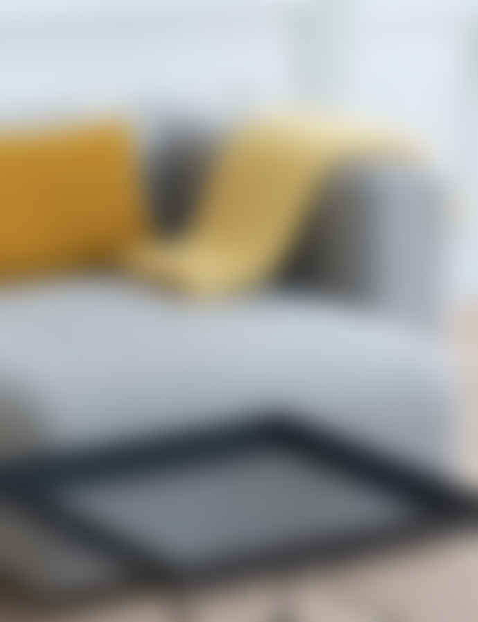 HAY Wool Lemon Sorbet Mono Blanket