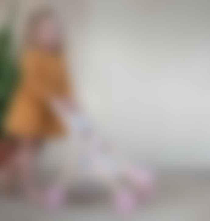 Little Dutch Little Dutch Wooden doll stroller – Spring Flowers