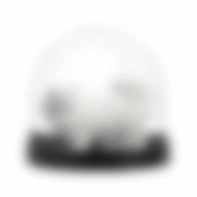 &klevering Wonderball White Cat Snowglobe