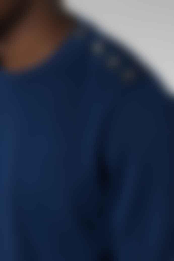 Outland Royal Blue Mariner Crew Neck Sweetshirt