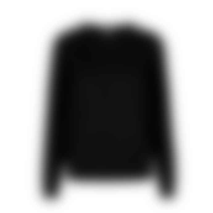 Levete Room Black Cashmere Wool Funda Crew Neck Sweater