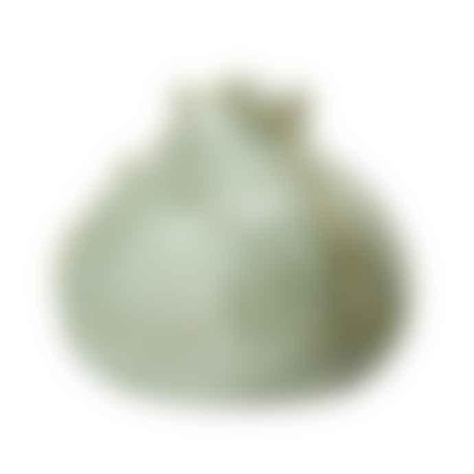 Bloomingville Green Stoneware Vase