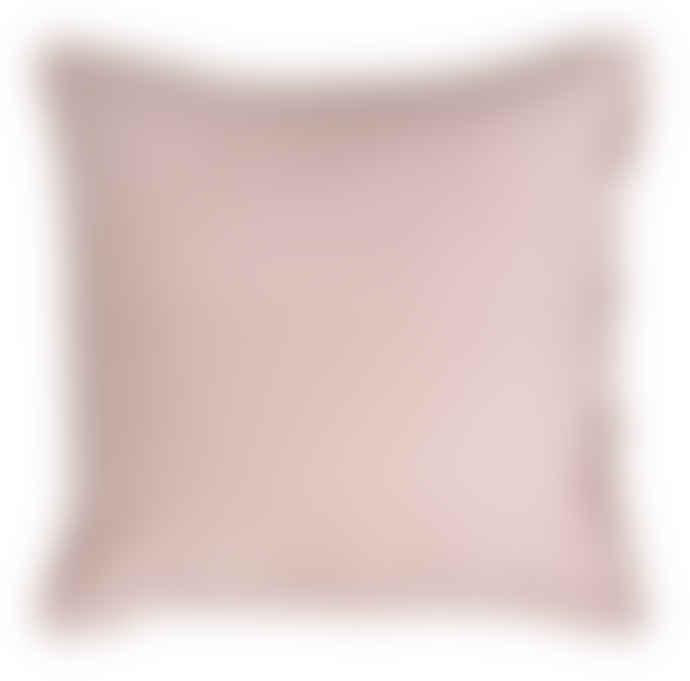 Wallace Cotton Large Square Rose Chalet Velvet Pillowcase