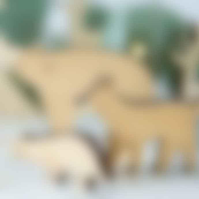 Meri Meri Woodland Animal Scene Advent Calendar