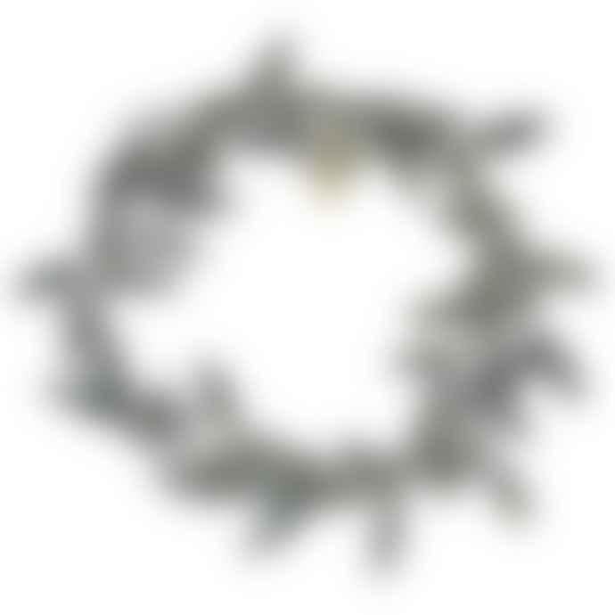 Ib Laursen Metal Mistletoe Ring Candle Holder