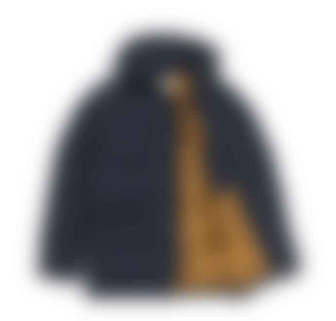 Carhartt Dark Navy Hamilton Brown WIP Alpine Coat