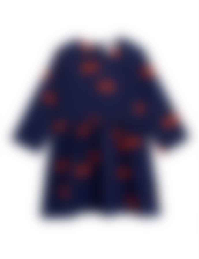 Mini Rodini Aw 19 Cherry Woven Ls Dress