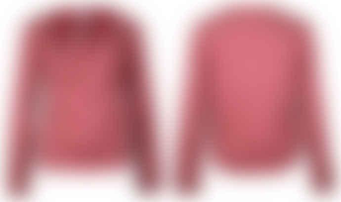 Format Rose Lizz Plain Long Sleeve Blouse