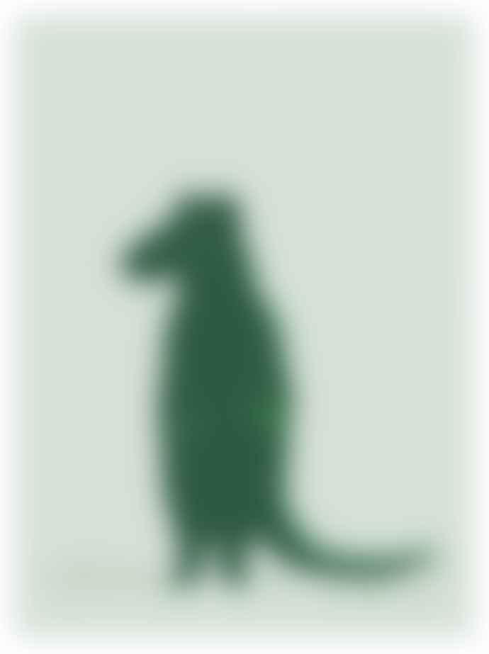 Trixie A3 Paper Crocodile Poster