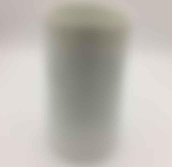 Rader Wide Porcelain Embossed Vase