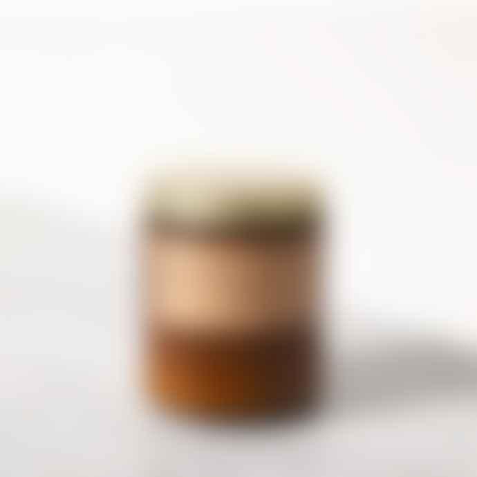 P.F. Candle Co No. 4 Teakwood & Tobacco Standard Soy Candle Jar